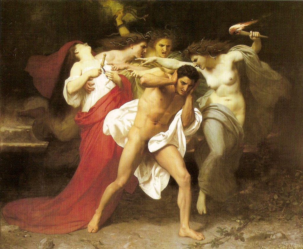 Orestes y las Furias