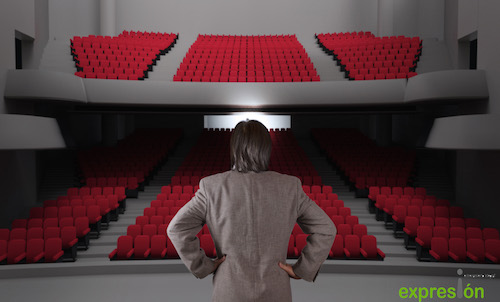 Efectivamente, los otros, el público. Porque para ellos hablamos en público.