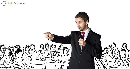 ¿Desde dónde hablamos cuando hablamos en público?