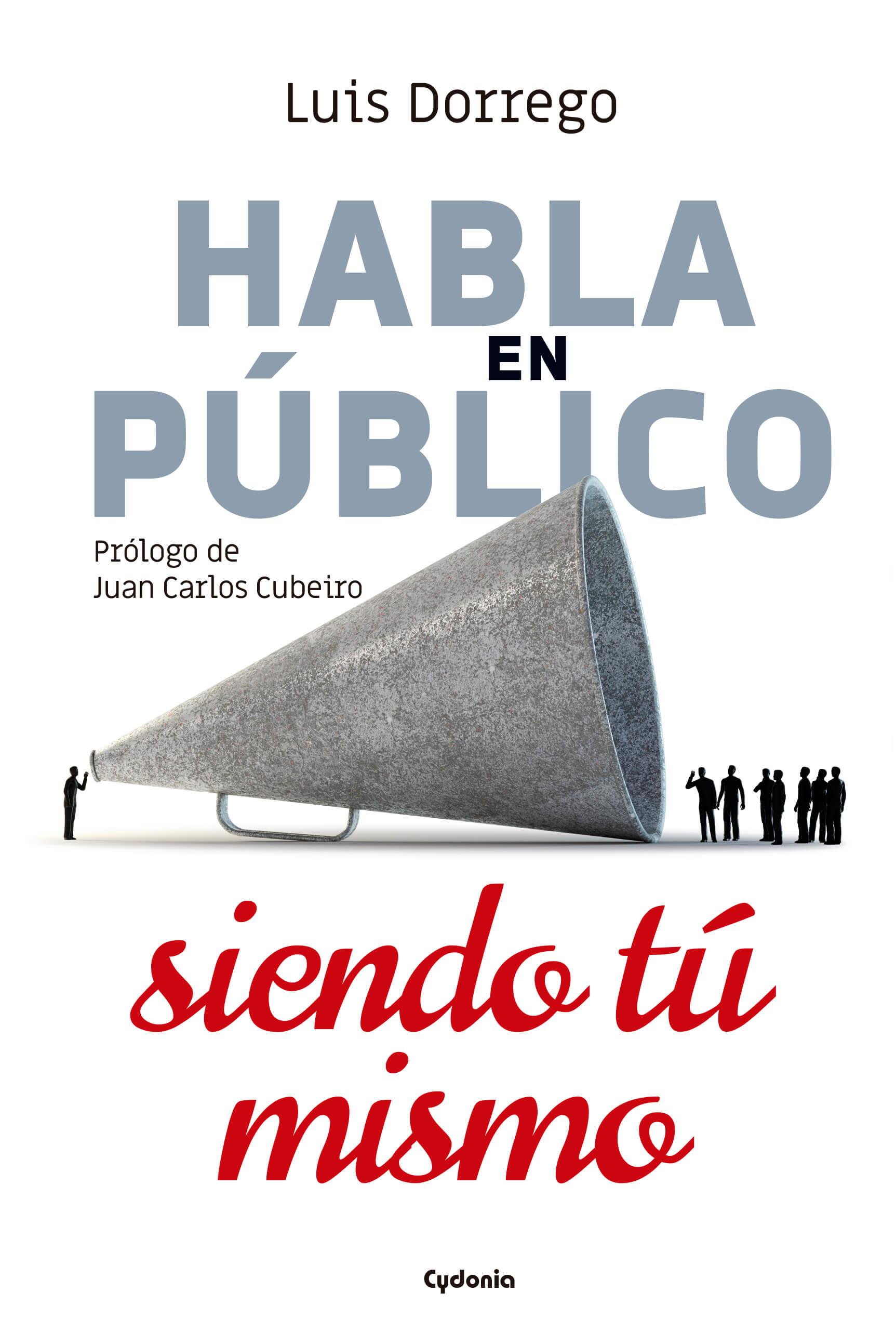 libro habla en publico